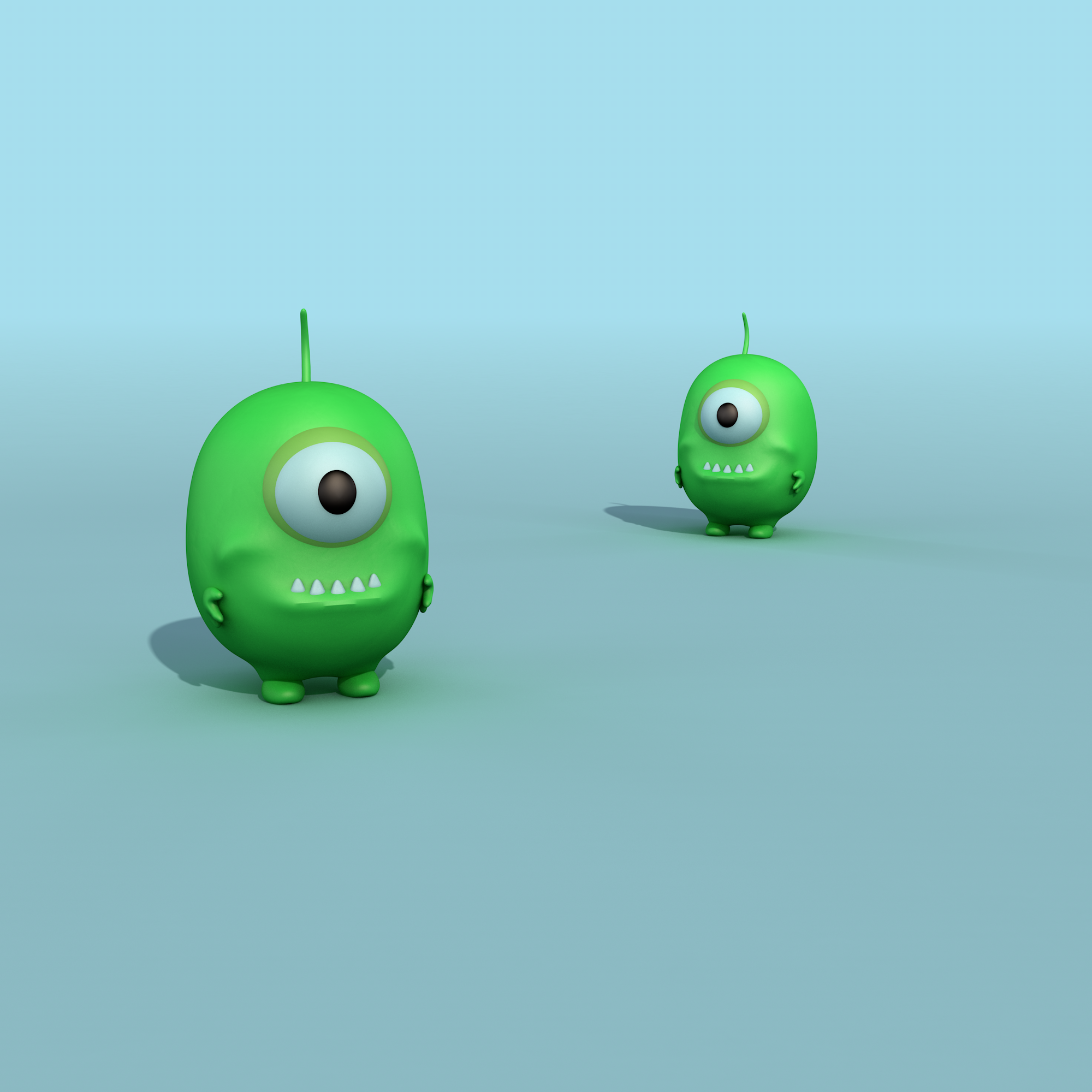 3d character monsters